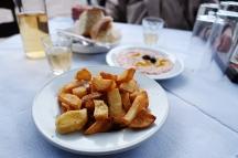 Fries and Tarama