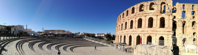 djem amphitheatre tunisia guide