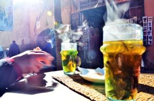tea mint green marrakech