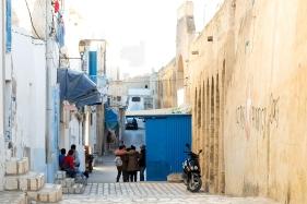 medina sousse street tunisia guide