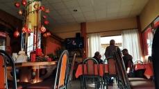A small restaurant in Liguoro village