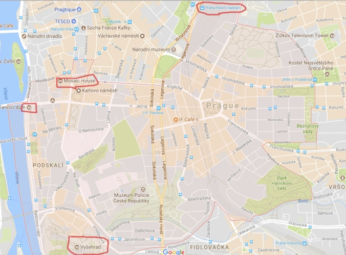 Prague2map